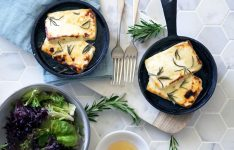 Grilled Halloumi with Honey and Rosemary