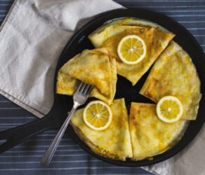 Best French Lemon Crêpes