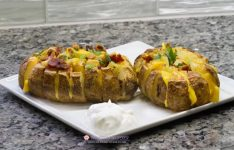 Bloomin Loaded Baked Potatoes