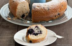 Blueberry Limoncello Yogurt Ciambellone