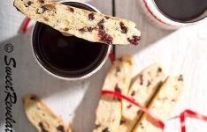 Cranberry Orange and Chocolate Chip Biscotti