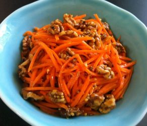 Carrot and Walnut Salad