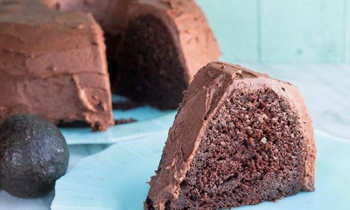 Chocolate Avocado Bundt Cake