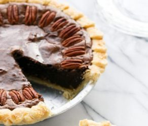 Chocolate Fudge Pecan Pie