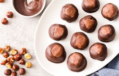 Chocolate Hazelnut Buckeyes