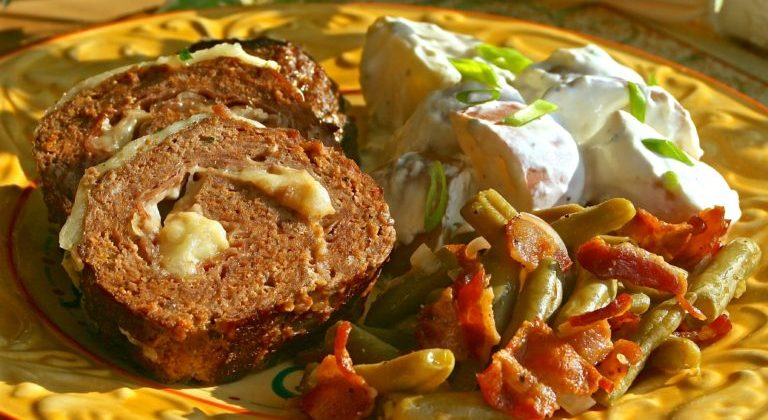 Classic Sicilian Meat Roll