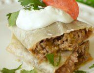 Easy Beef Burritos