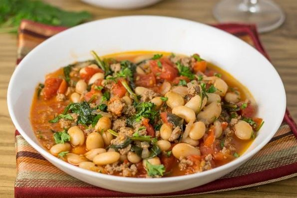Easy Italian Bean Stew