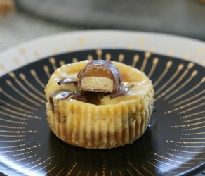 Twix Cheesecake Cups