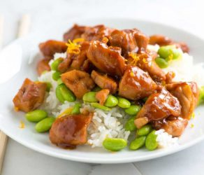 Honey Ginger Teriyaki Chicken