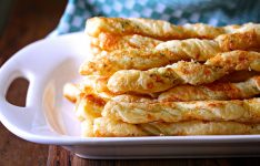 Cheese Straws with Parmesan Gruyere and Thyme
