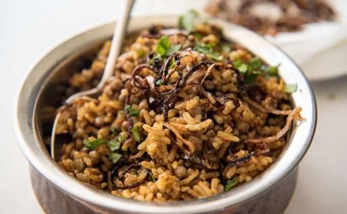 Middle Eastern Rice – Mejadra