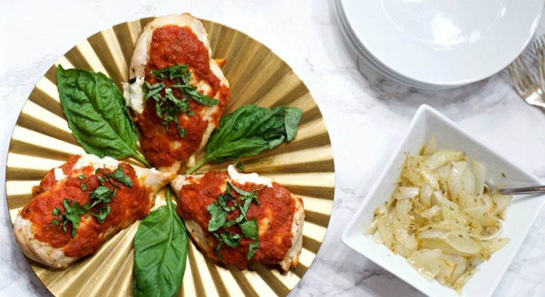 Mozzarella Chicken Marinara Recipe