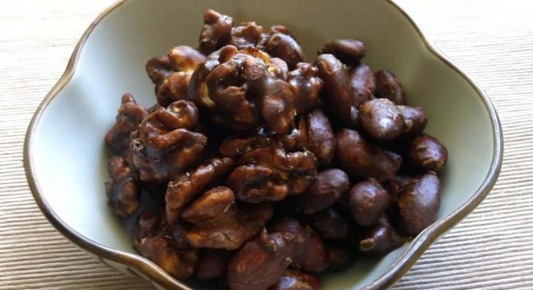 Muscovado Coated Nuts