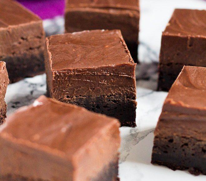 Nutella Fudge Brownies | Salt and Sugar
