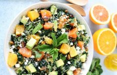 Orange, Avocado, and Kale Quinoa Salad