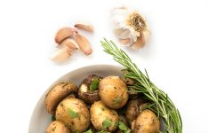 Roasted Mushrooms with Garlic and Rosemary