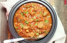 Slow Cooker Persian Lamb and Eggplant Stew