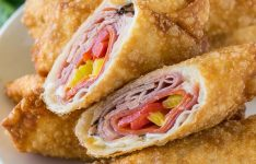 Spicy Italian Egg Rolls