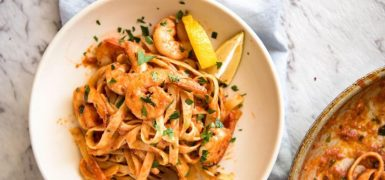 Spicy Chilli Prawn Pasta