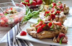 Strawberry Balsamic Grilled Chicken