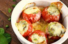 Stuffed Tomato Bites