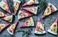 Watermelon Grilled Cheese Pizza