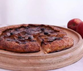 Whole Wheat Brown Butter Apple Galette