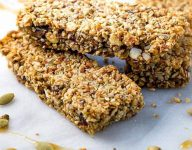 Baked Paleo Energy Bars