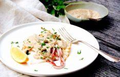 Calamari with Tuna Mayonnaise