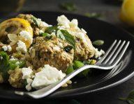 Greek Lamb Meatballs and Rice
