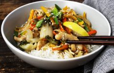 Lemon Chicken Stir Fry