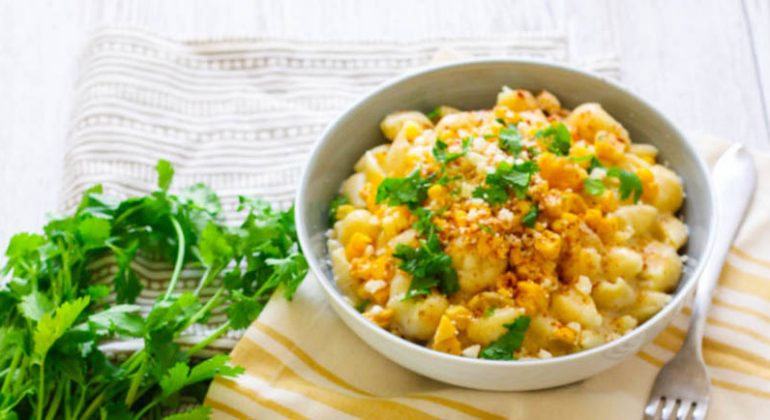 Mexican Street Corn Macaroni and Cheese