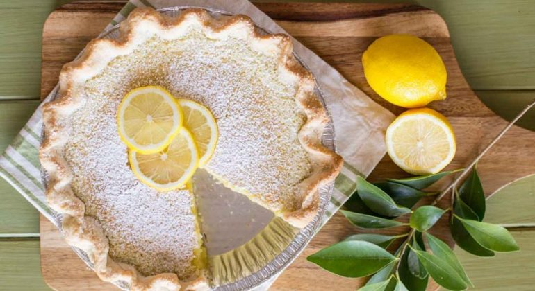 Whole Lemon Pie