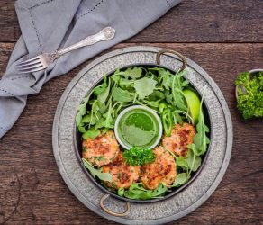 Apple and Salmon Fish Cakes