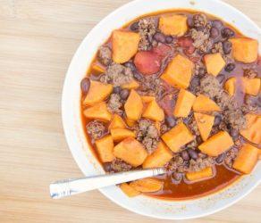 Black Bean & Sweet Potato Chili