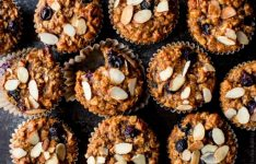 Blueberry Almond Power Muffins