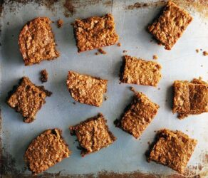 Breakfast Bar Recipe with Peanut Butter, Oatmeal and Almonds