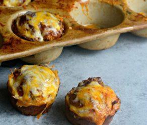 Cheesy Sausage Egg Muffins