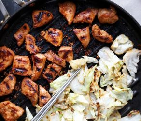 Chicken Bulgogi With Cabbage