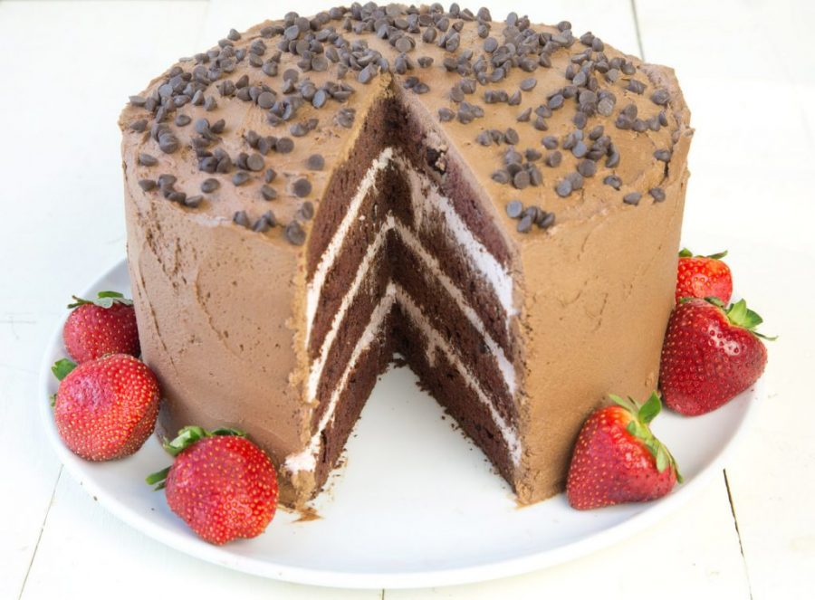 strawberry mousse cake filling chocolate cake with strawberry mousse filling salt and sugar 7761