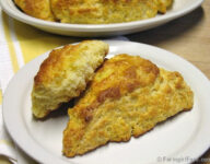 Classic Meyer Lemon (or regular lemon) Scones