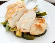 Coconut and Lime Chicken with Mixed Asian Vegetables