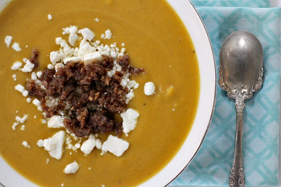 Curried Butternut Squash Soup