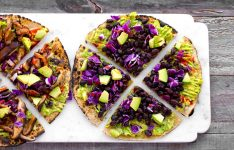 Easy Avocado Tortilla Pizzas
