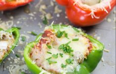 Easy Bake Bell Pepper Pizzas