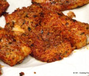 Easy Oven Baked Parmesan Crusted Tilapia