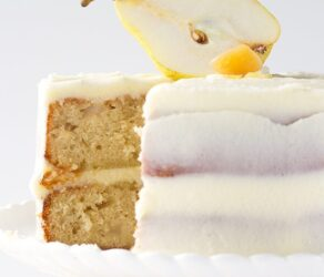 Ginger Pear Cake