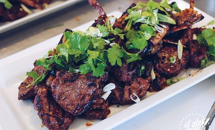 Lamb Cutlets Marinated in Red Bean Curd