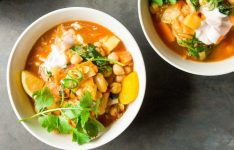 Moroccan-Spiced Sweet Potato and Chickpea Stew